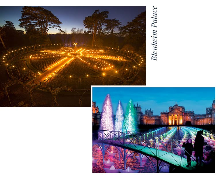 Blenheim Palace Light Show