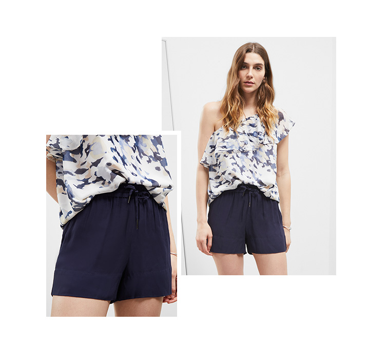 Soft Crepe Shorts