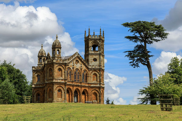 Gothic Temple, Stowe, Buckinghamshire