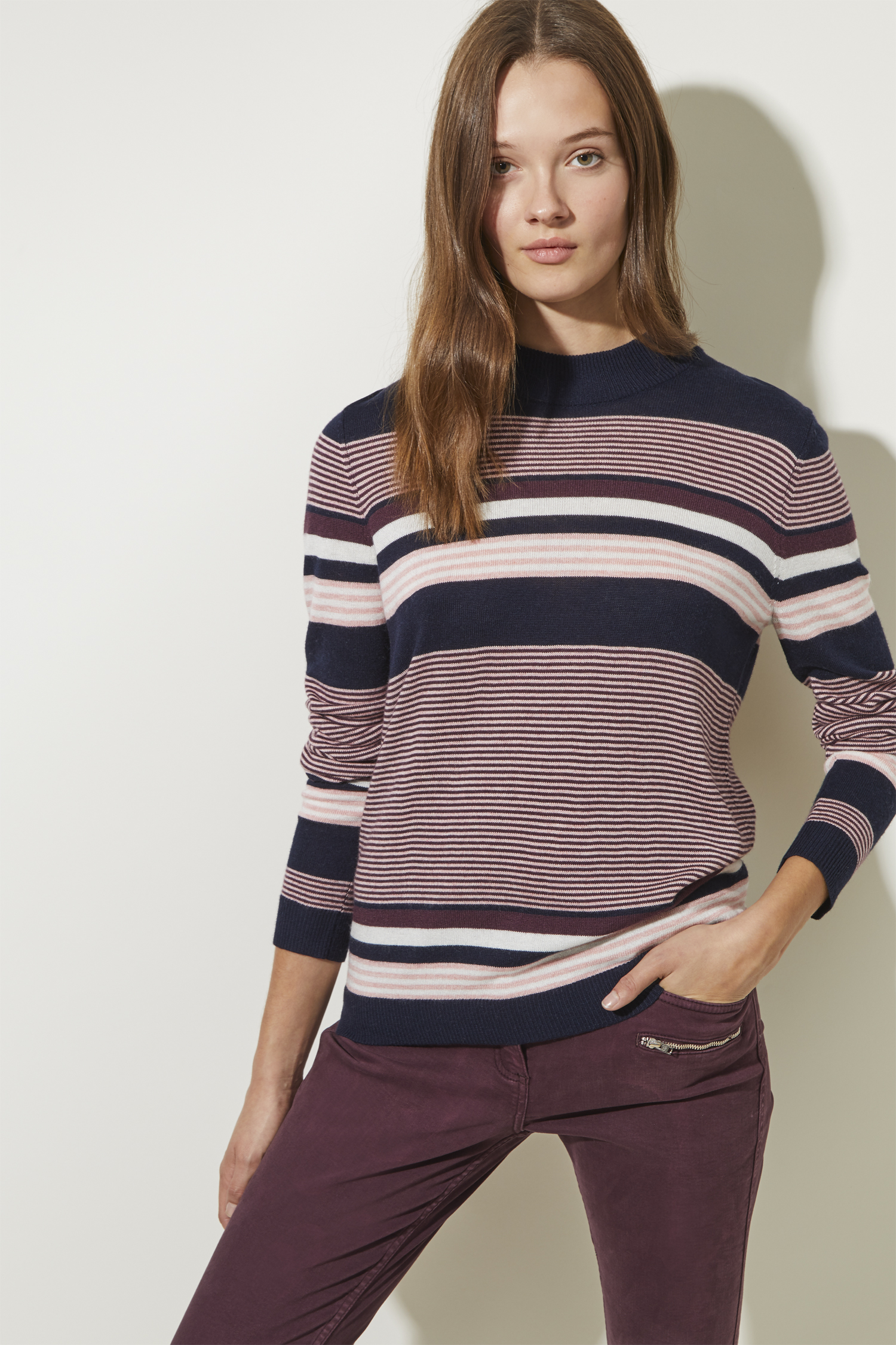 women's striped jumpers