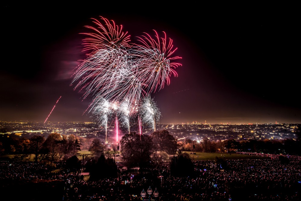 bonfire night london 2018