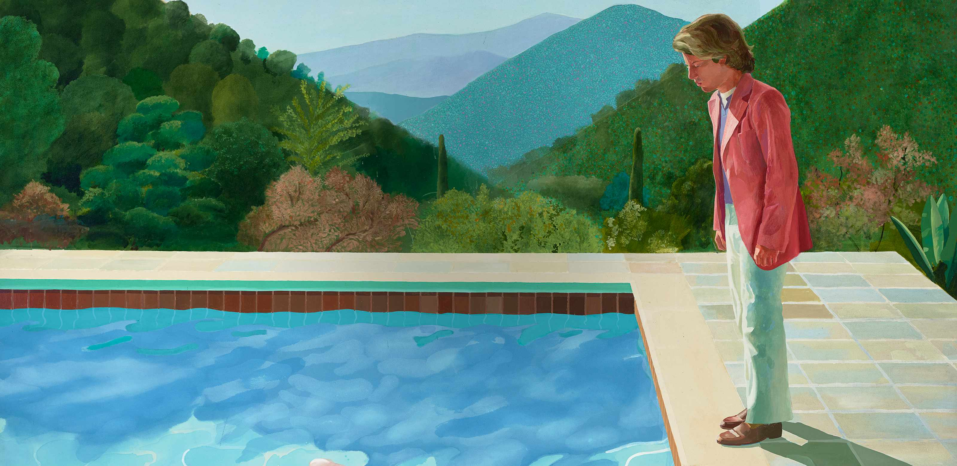 David Hockney: Portrait of an Artist (Pool with Two Figures) 1972