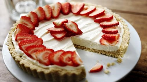 Nigel Slater's Strawberry Mascarpone Tart