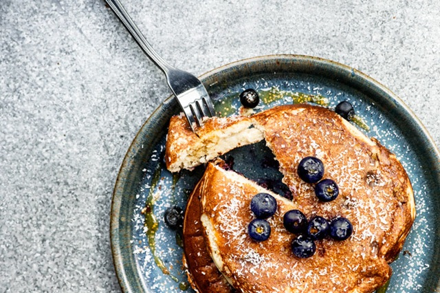 Farm Girl - Berry Pancakes