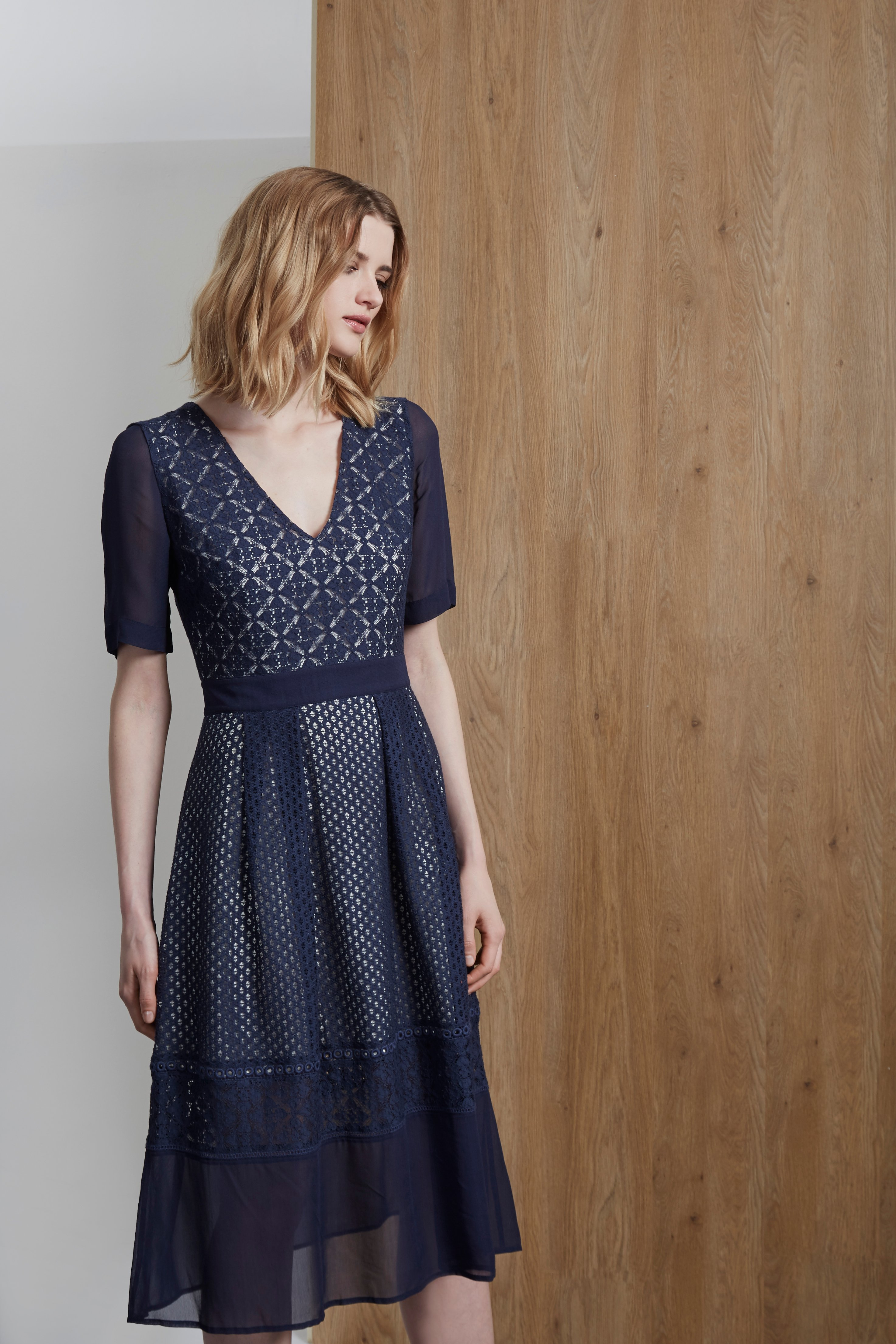 Lucia Lace Mix Dress