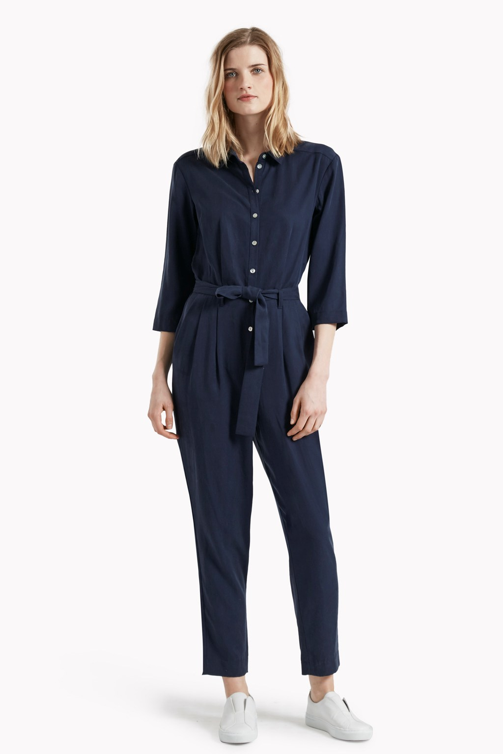 Off-Duty Jumpsuit - Timed Out Tencel Boiler Suit