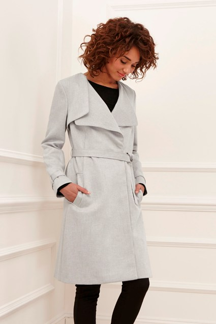 Claudie Suiting Trench Coat