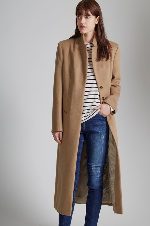 Complete the Look Blenheim Full Length Belted Coat