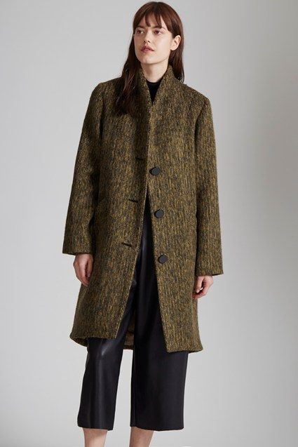 Pennine Three Button Cocoon Coat