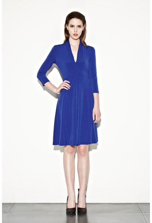 Seattle Jersey Ruched Dress