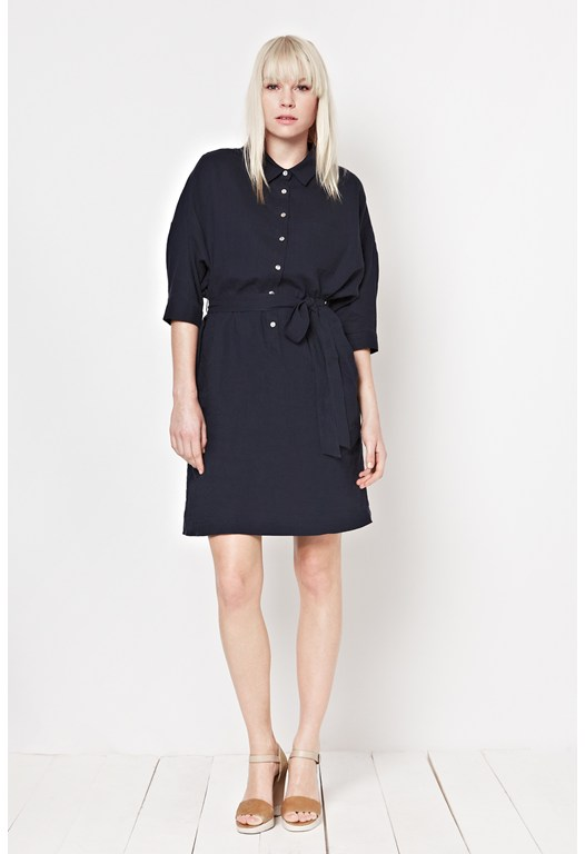 Whitby Linen Shirt Dress