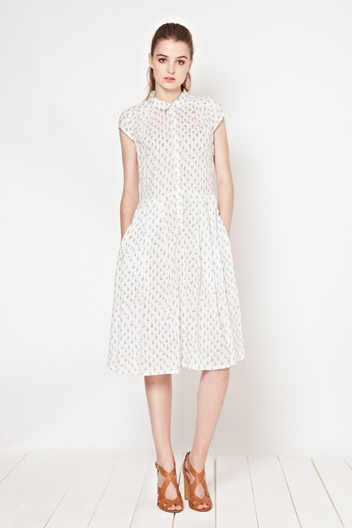 Get Knotted Print Dress