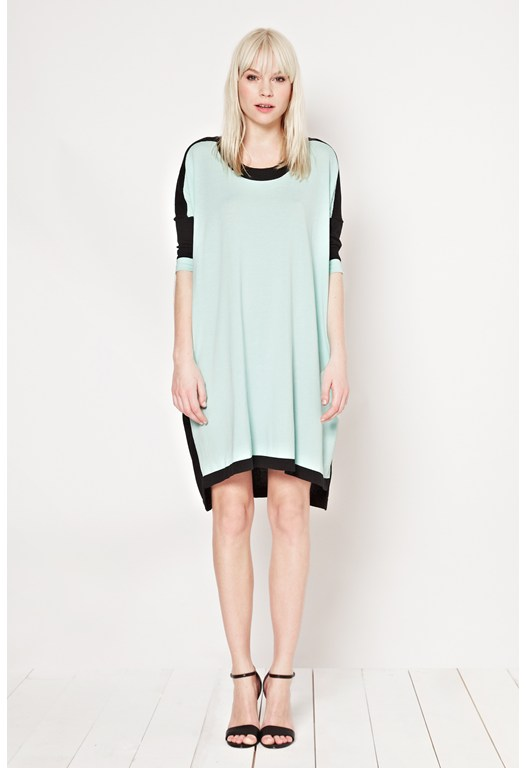 Daria Colour Block Jumper Dress