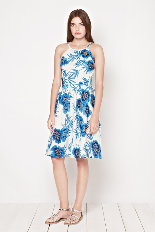 Riviera Floral Strappy Dress