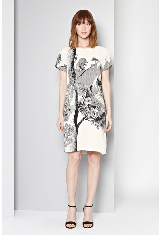 Hansel & Gretal Print Dress