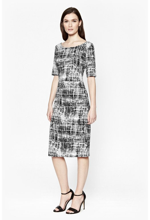 Crosshatch Dress