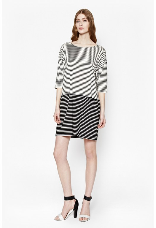 Suzanne Stripe Tunic Dress