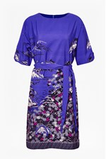 Looks Great With Geisha Print Shift Dress