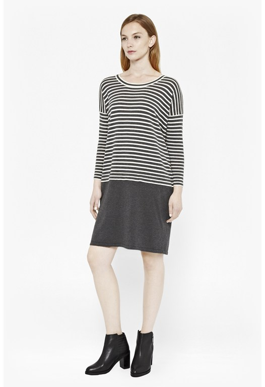 Georgie Striped Knitted Dress