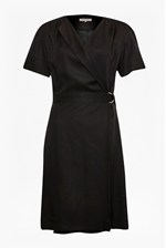 Looks Great With Club House Wrap Dress