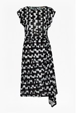 Looks Great With Cubist Wave Asymmetric Dress