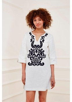 Mozambique Broderie Tunic Dress