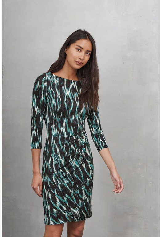 Jungle Ikat Dress
