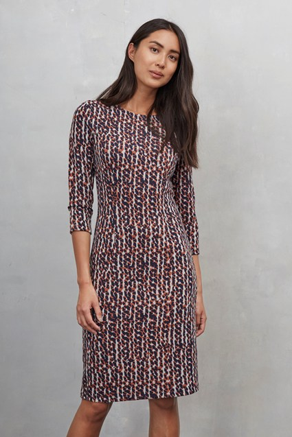 Winter Crystal Contrast Dress