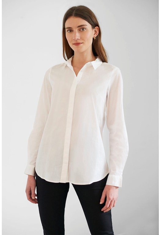 Classic Stretch Cotton Shirt