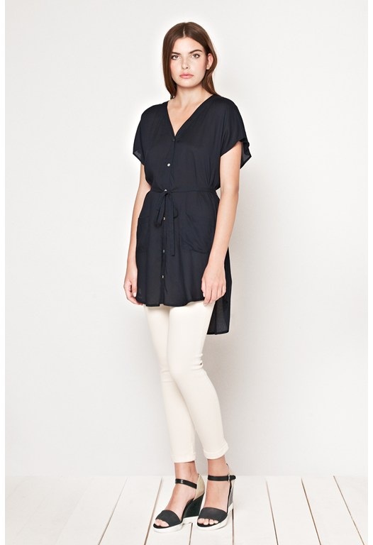 Asha Slouch Shirt Dress