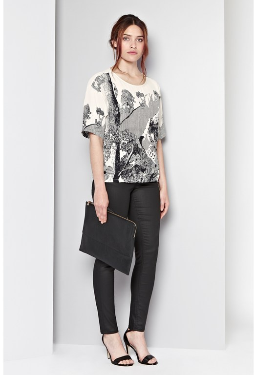 Hansel & Gretal Print Top