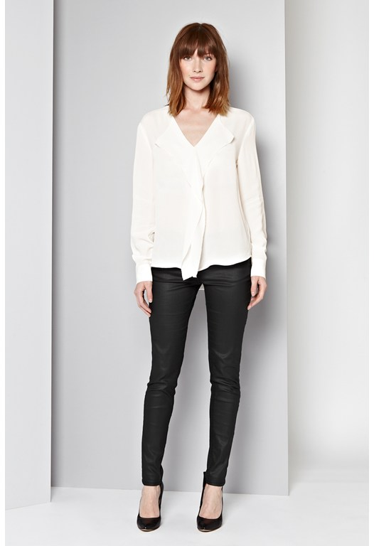 Mayfair Crepe Blouse