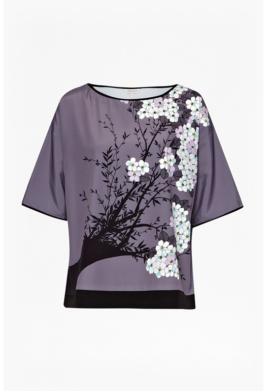 Juniper Tree Printed Top