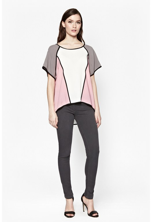Tonino Colour Block Top
