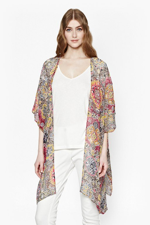 Complete the Look Marrakesh Express Kimono Top