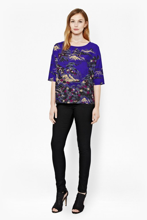Complete the Look Geisha Oversized Top