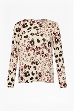 Looks Great With Leopard Kisses Printed Top