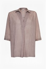 Looks Great With Kezia Shirting Collared Blouse