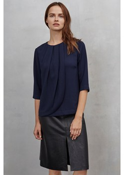 Studio Crepe Pleat Top