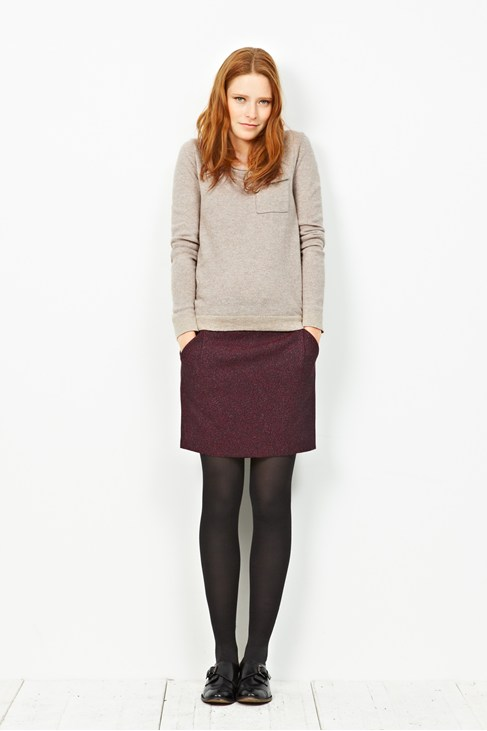 Freeway Cute Tweed Skirt