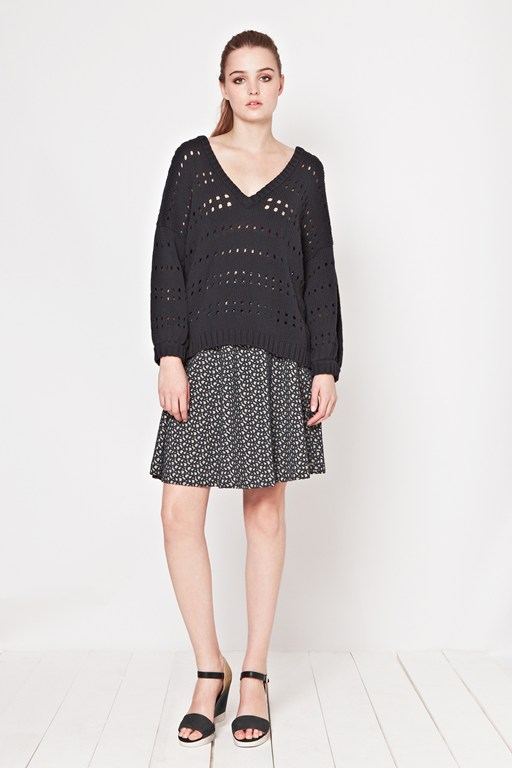 Jolly Jacquard Jersey Skirt