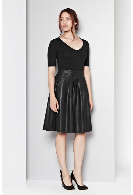 Berlin Pleated Skirt