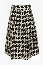 Looks Great With Pistol Dogtooth Full Skirt