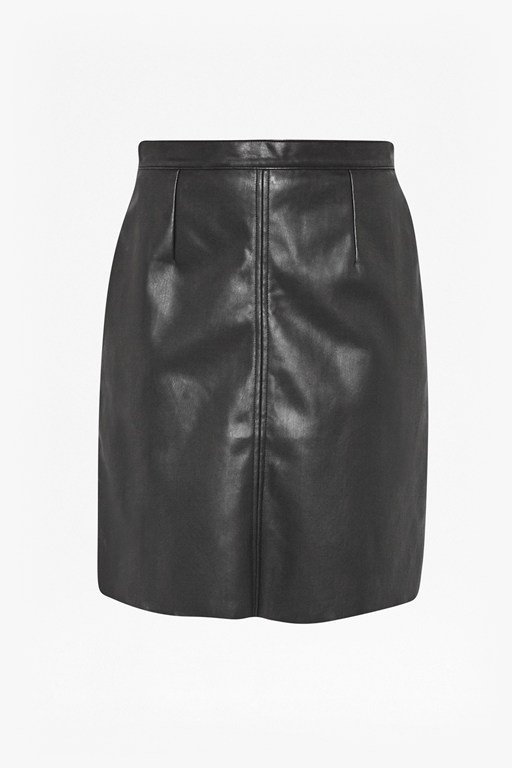 Complete the Look Detroit Faux Leather Skirt