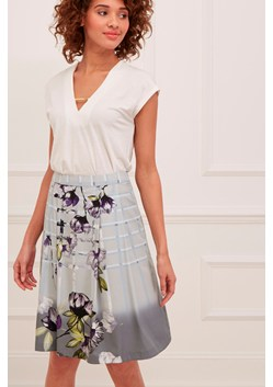 Trellis Garden Pleated Skirt