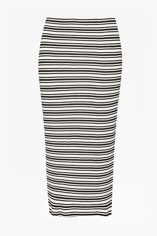 Complete the Look Alexandra Striped Pencil Skirt