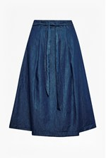 Looks Great With Lightweight Denim High Waisted Skirt