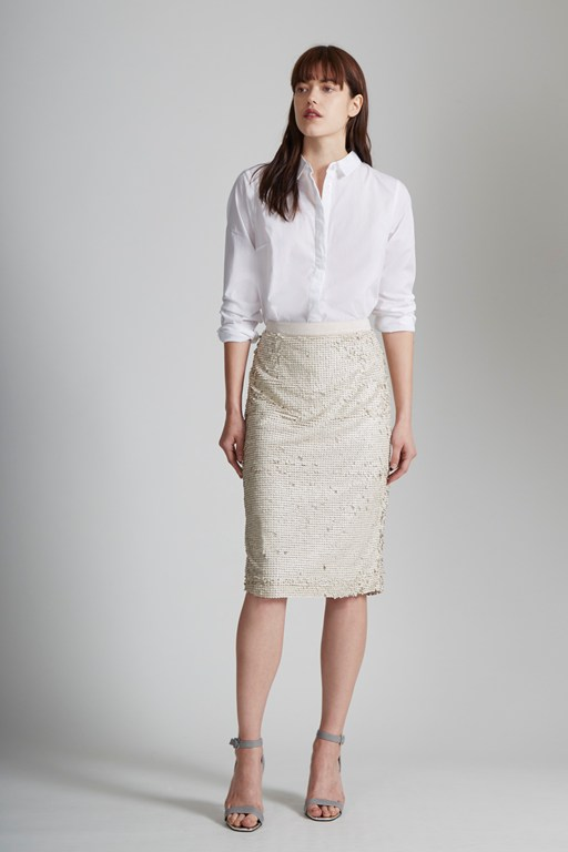 Siren Sequin Pencil Skirt