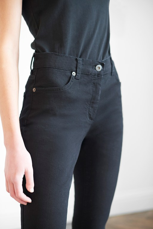 Complete the Look Black Reform Skinny Jeans