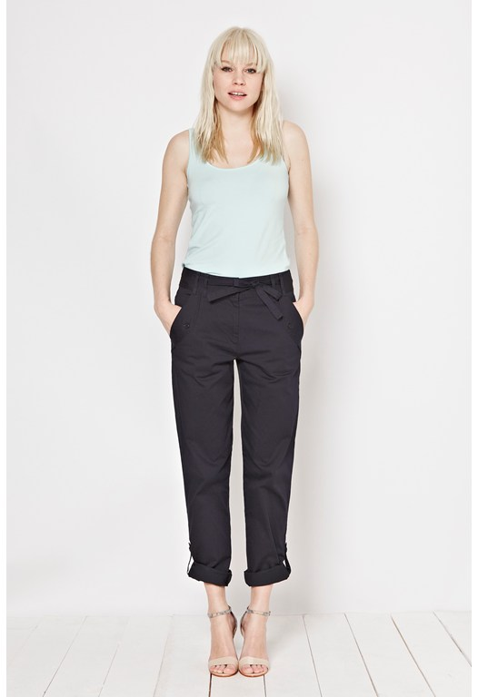 Pevensey Cotton Roll Up Trousers